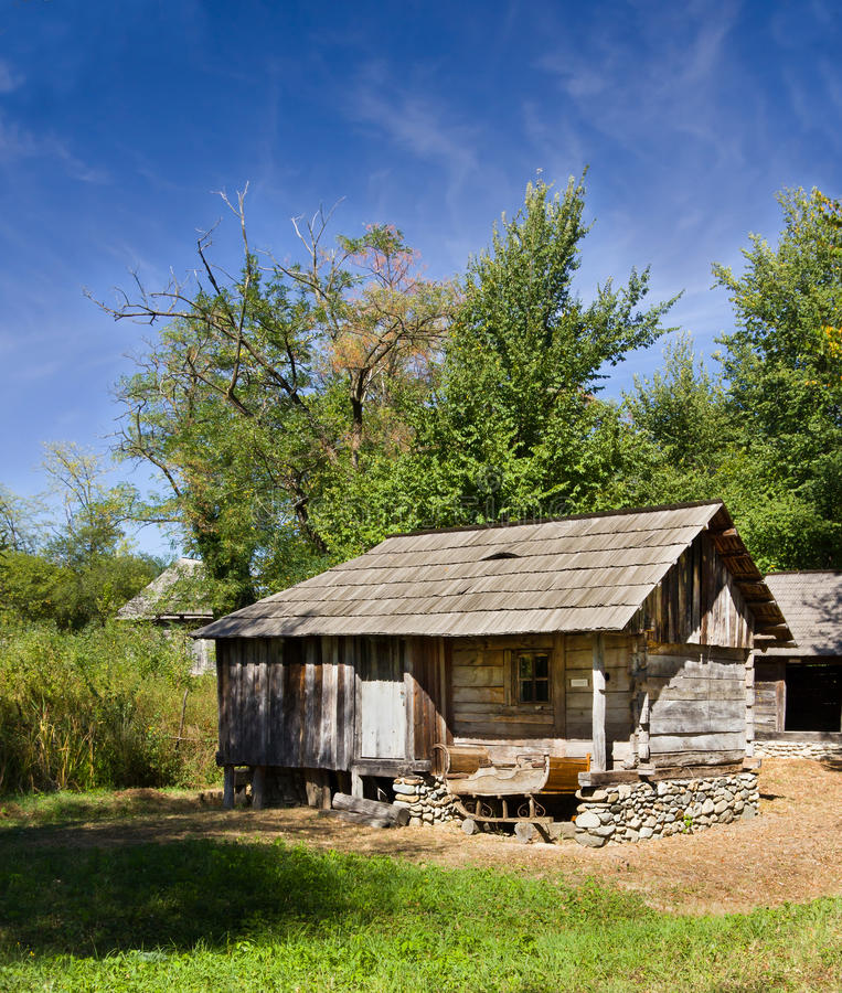 Traditional authentic barn - Gorj