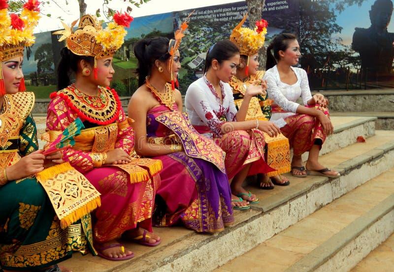 Traditional Balinese dancer stock photos