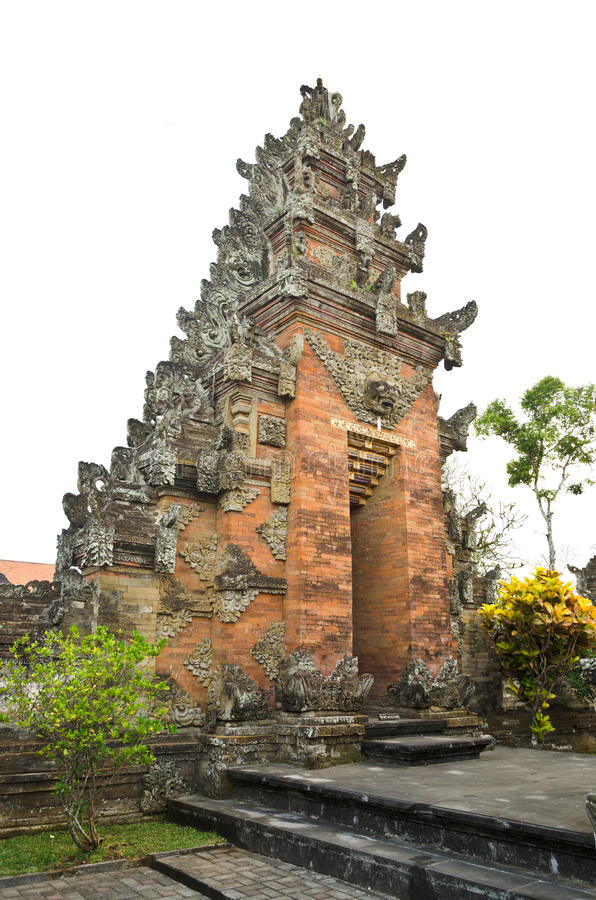Traditional balinese temple royalty free stock image