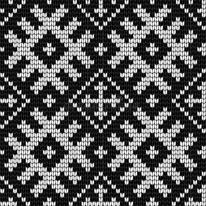 Download Traditional Baltic Knitting Pattern Stock Illustration - Image: 83722418