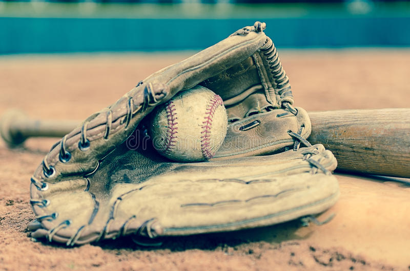 Download Traditional Baseball stock image. Image of times, dirt - 37614971