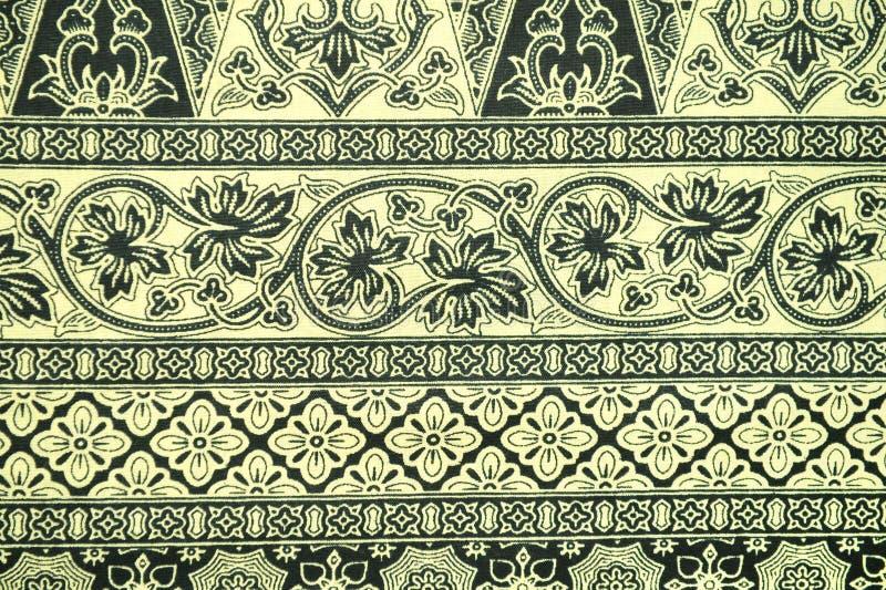 Batik Sarong Pattern Background stock image