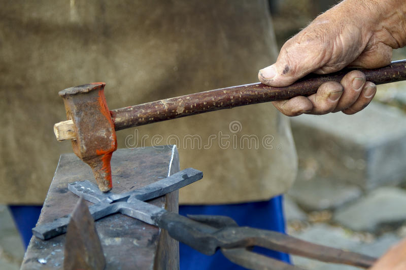 Download Traditional Blacksmith Scene Stock Photo - Image: 17526912
