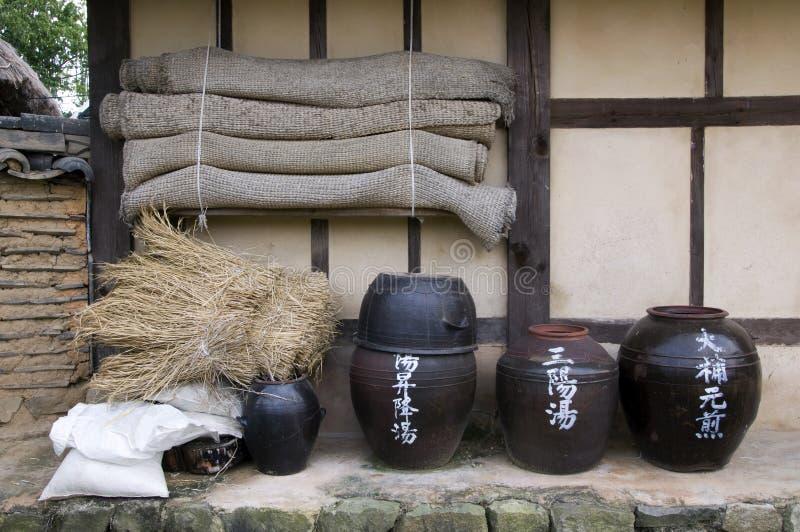 Traditional Bowls,South Korea royalty free stock photo
