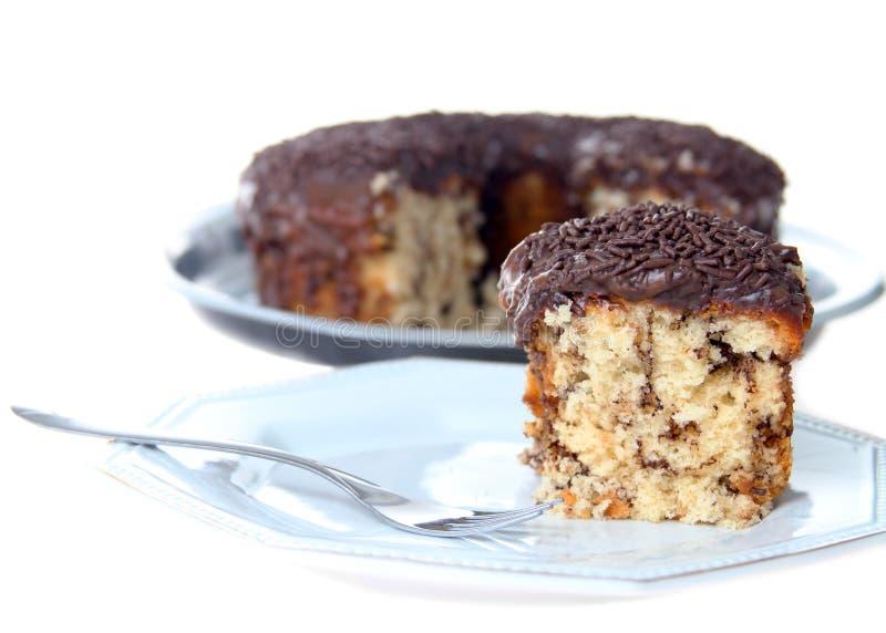 A traditional Brazilian cake. Called bolo formigueiro royalty free stock photos