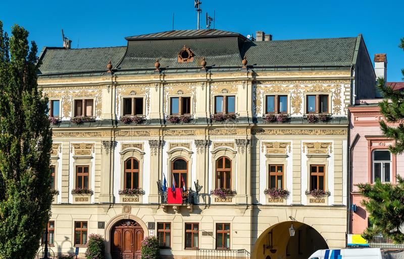 Traditional buildings in the old town of Presov, Slovakia. Traditional buildings in the old town of Presov in Slovakia stock photography