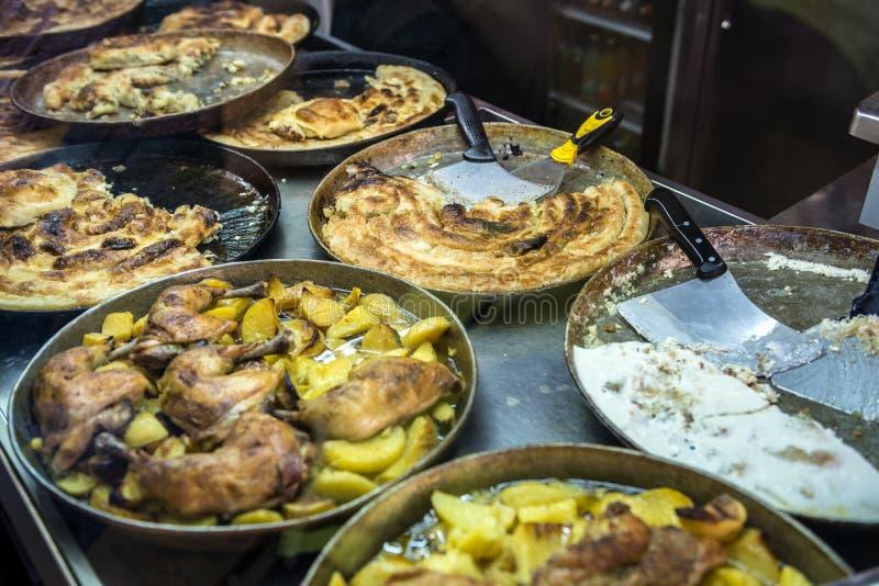 Traditional burek dish royalty free stock images