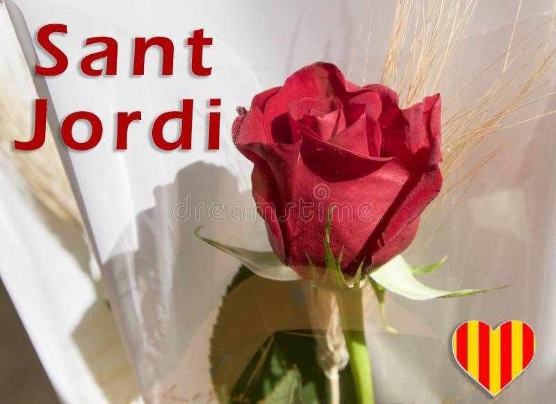 Traditional celebration in Catalonia. stock image