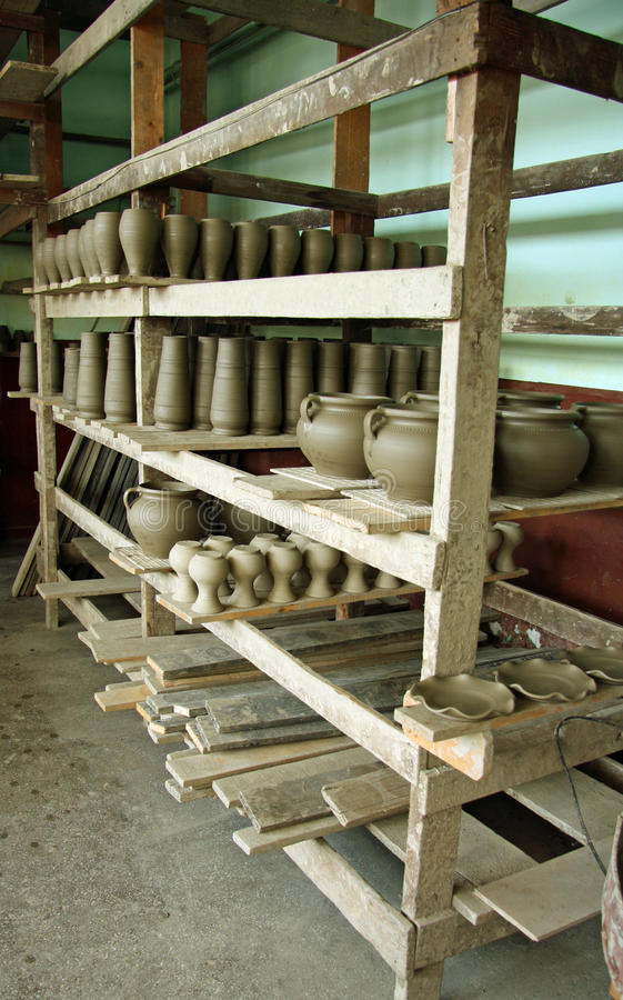 Download Traditional Ceramics Pottery Workshop Stock Image - Image: 26935321