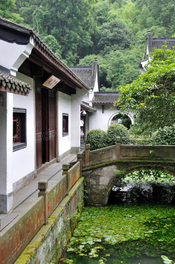 Traditional Chinese Architecture stock photos