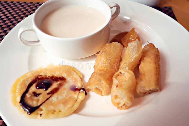 Traditional Chinese breakfast royalty free stock images