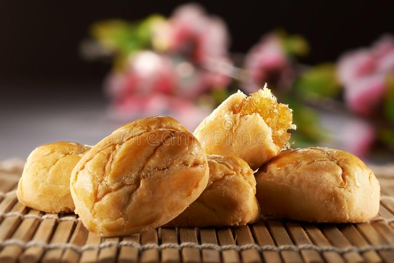 Traditional Chinese Cookies stock image