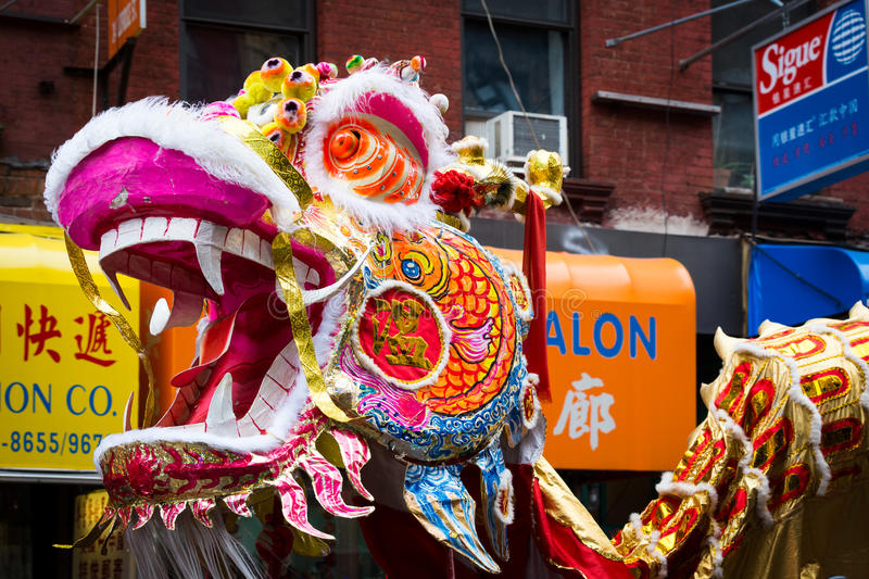 Traditional Chinese Dragon royalty free stock images