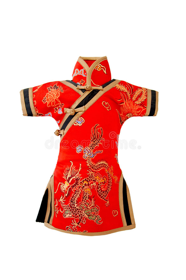 Free Traditional Chinese Dress Royalty Free Stock Photo - 4665255
