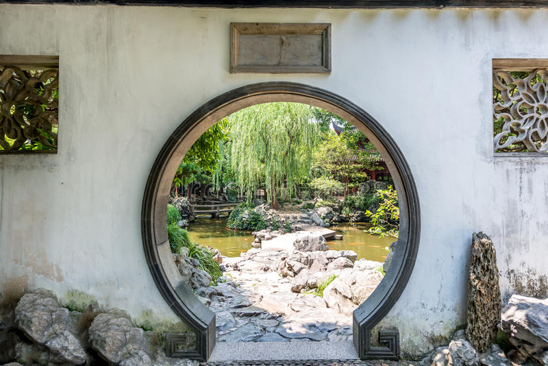 31 Traditional Chinese Garden White Round Entrance Photos - Free & Royalty-Free Stock Photos from Dreamstime