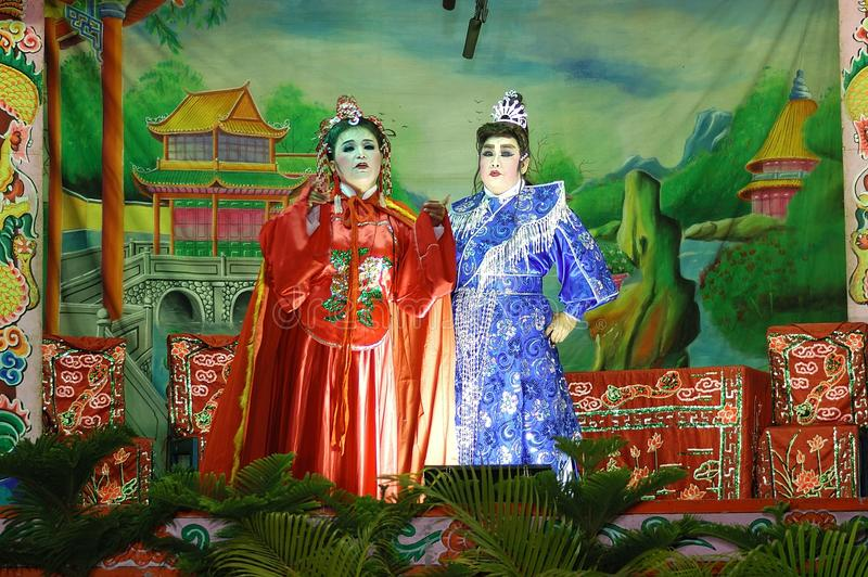Traditional Chinese Opera stock photography