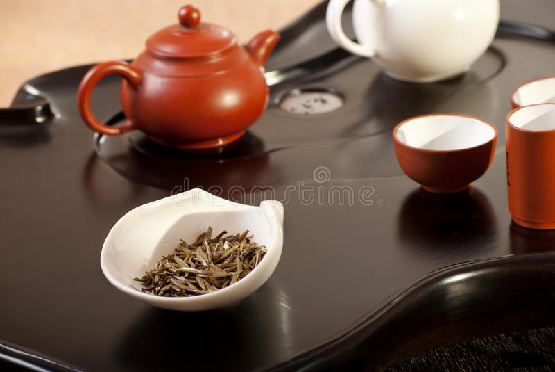 Traditional Chinese Tea Ceremony Stock Photos