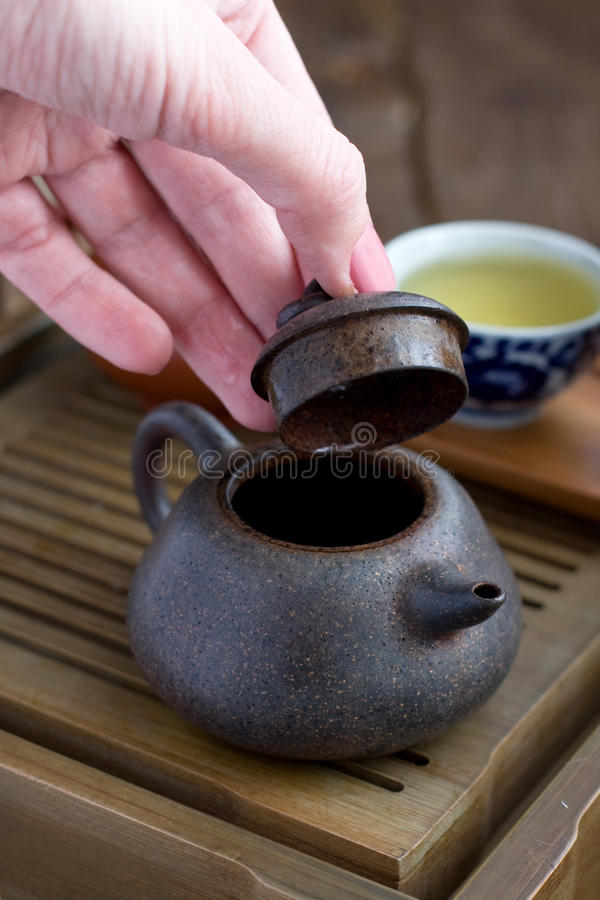 Download Traditional Chinese Tea Ceremony Accessories Stock Image - Image: 27977677