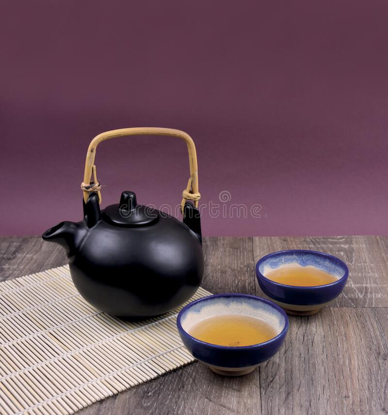 Traditional Chinese tea on the table stock images royalty free stock images