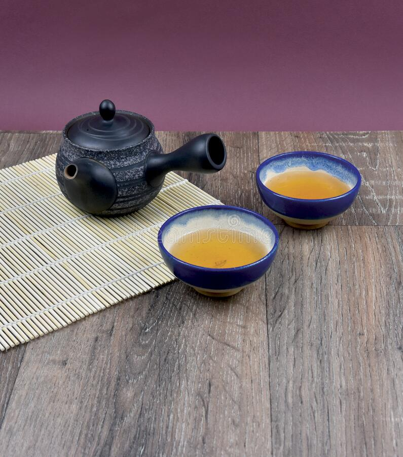 Traditional Chinese tea on the table stock images stock images