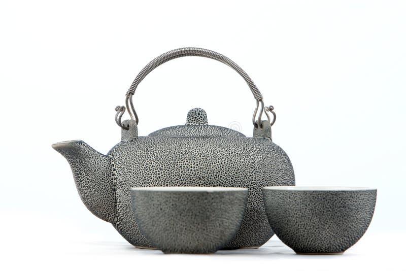 Traditional Chinese Teapot With Tea Mug Royalty Free Stock Photos