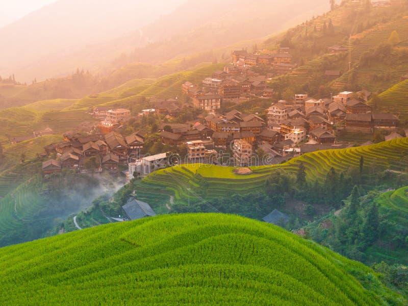 Chinese Village Scenery Stock Photo Image Of Beauty