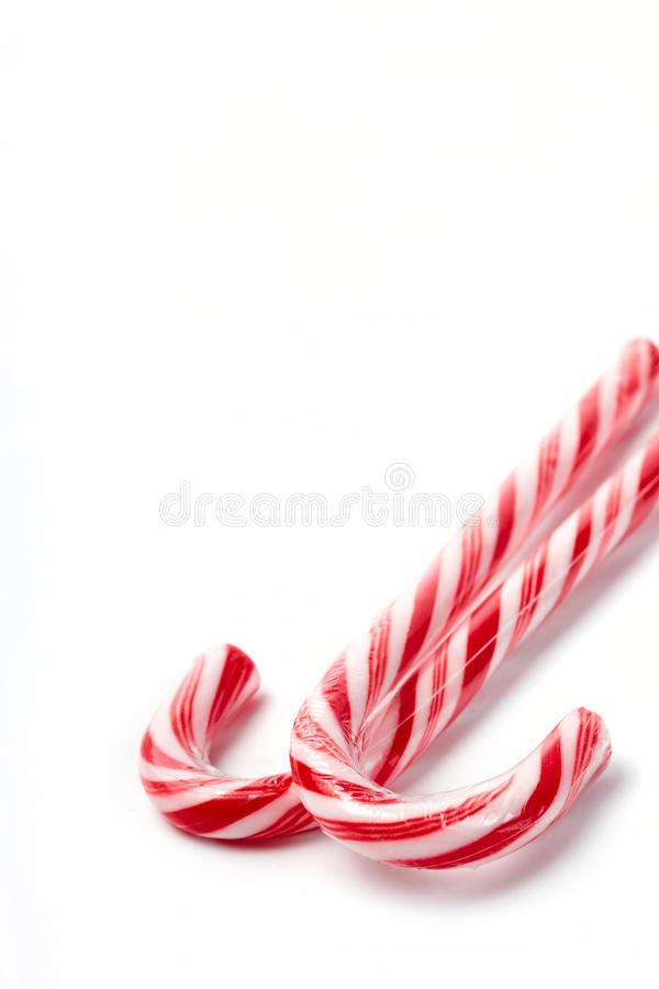 Traditional Christmas Candy Royalty Free Stock Photography