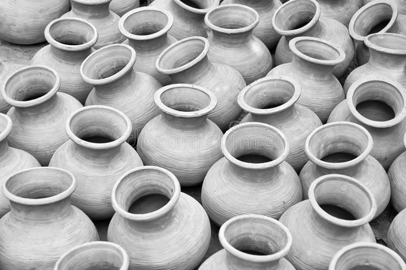 Traditional Clay Pottery royalty free stock photography