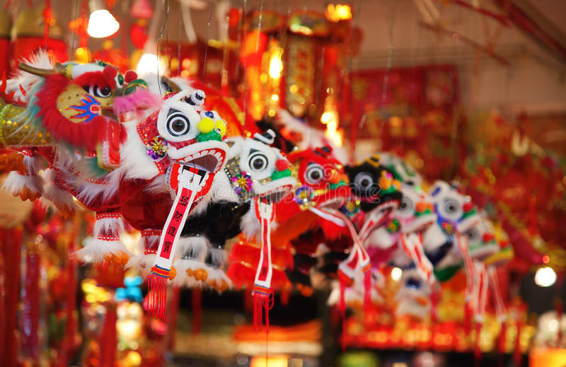 Traditional cninese toys stock photography