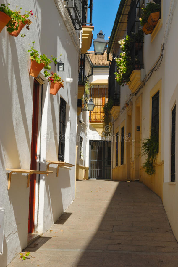 Traditional Cordoba Street Royalty Free Stock Images