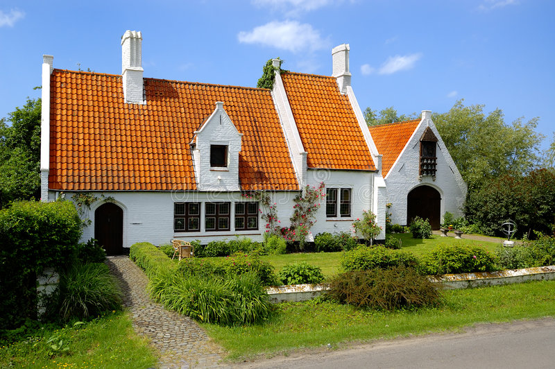 Download Traditional Countryside House Stock Image - Image: 4436927