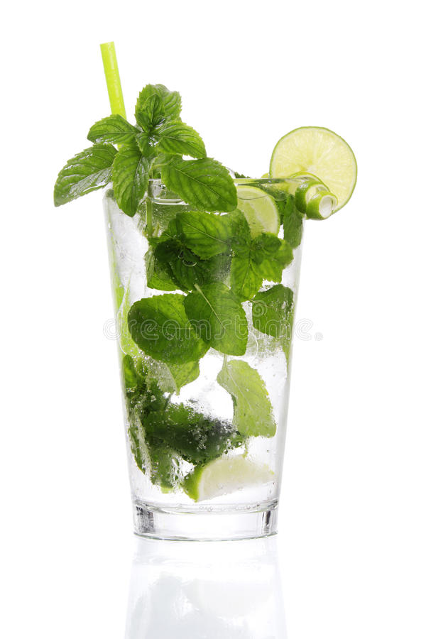 Traditional Cuban Mojito stock images