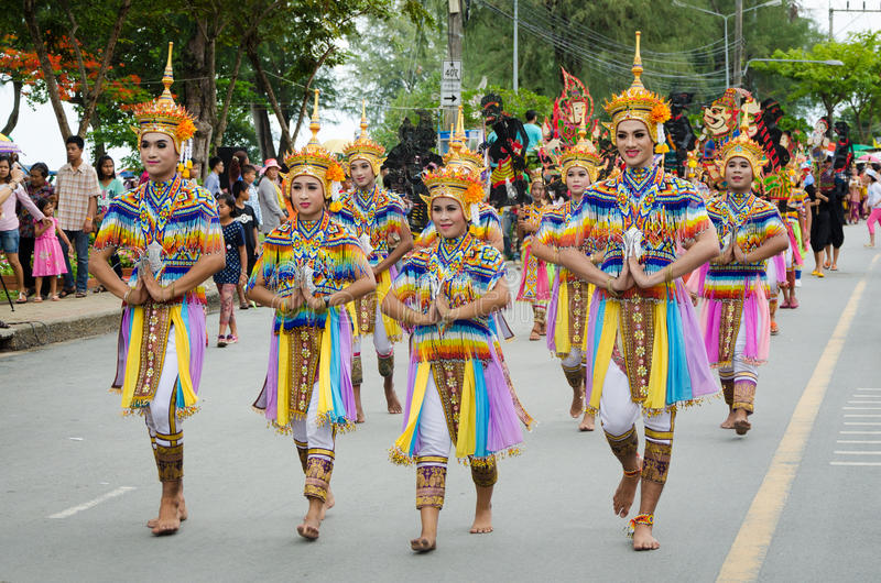 Traditional Dance Manora In Lak Phra Tradition Editorial Image