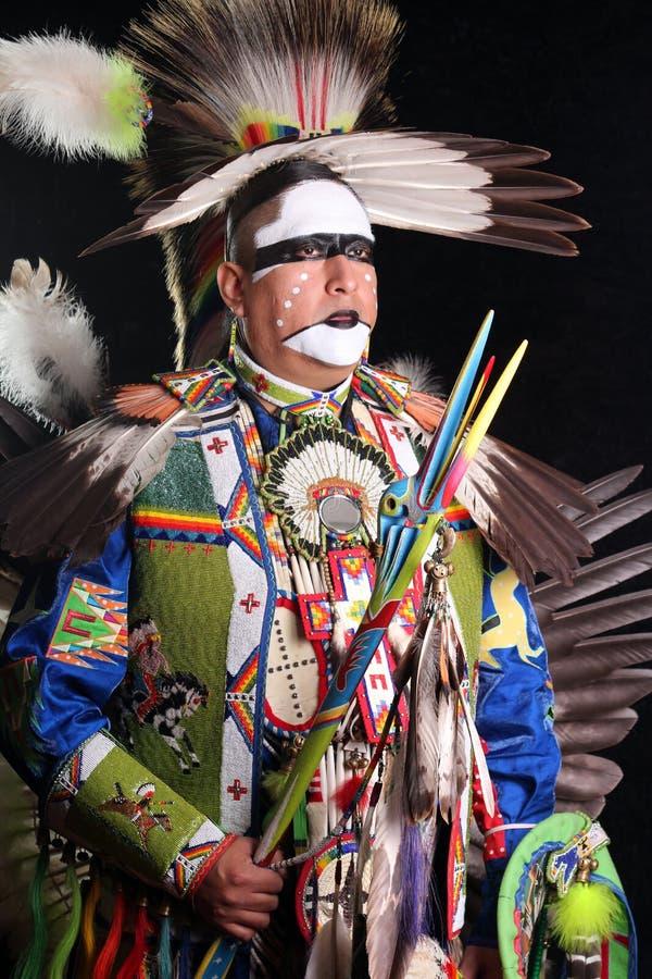 Traditional Dancer stock image