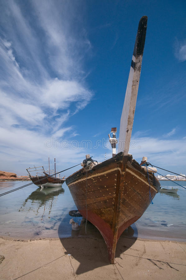 Traditional Dhow royalty free stock photos
