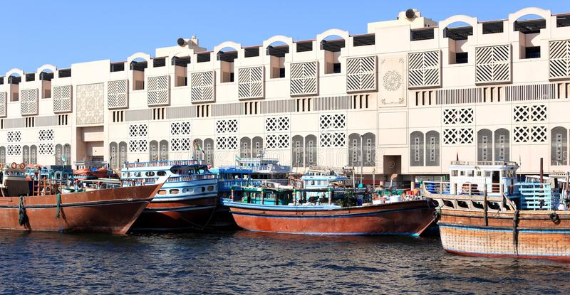 Download Traditional Dhows In Dubai Creek Stock Photo - Image: 28388002