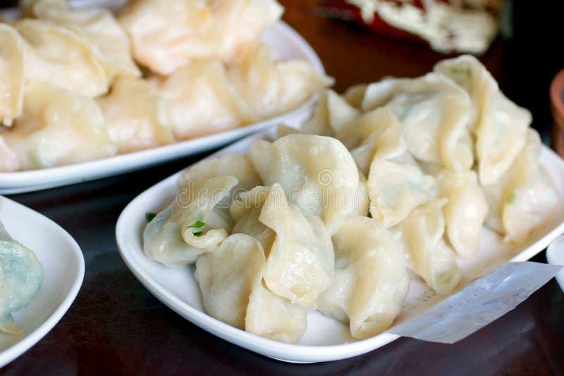 Traditional dim sum Chinese dumplings, China. Traditional dim sum Chinese dumplings. Anshan, Liaoning, China royalty free stock image