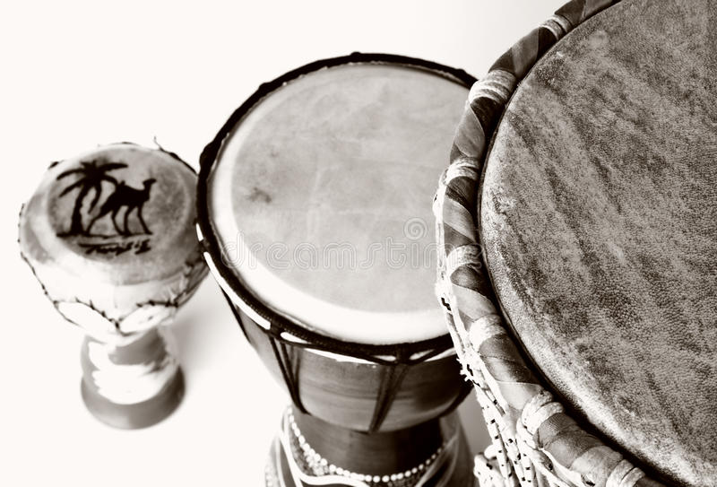 Download Traditional drums stock photo. Image of orange, african - 9642362