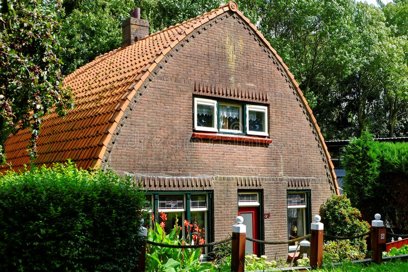 Traditional Dutch country home royalty free stock photos