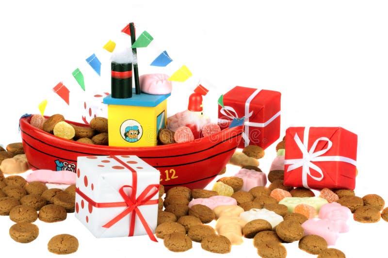 Traditional dutch culture: Santa Claus steamboat