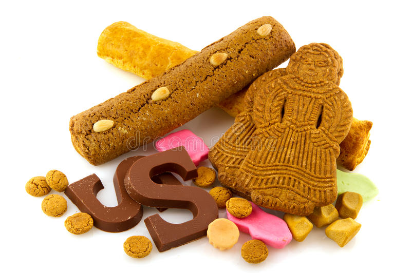 Traditional Dutch Delicacy For Sinterklaas Royalty Free Stock Images