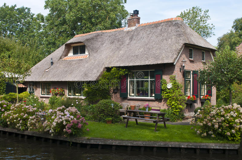 Traditional dutch house stock image image of investment for Classic dutch house of 60m2