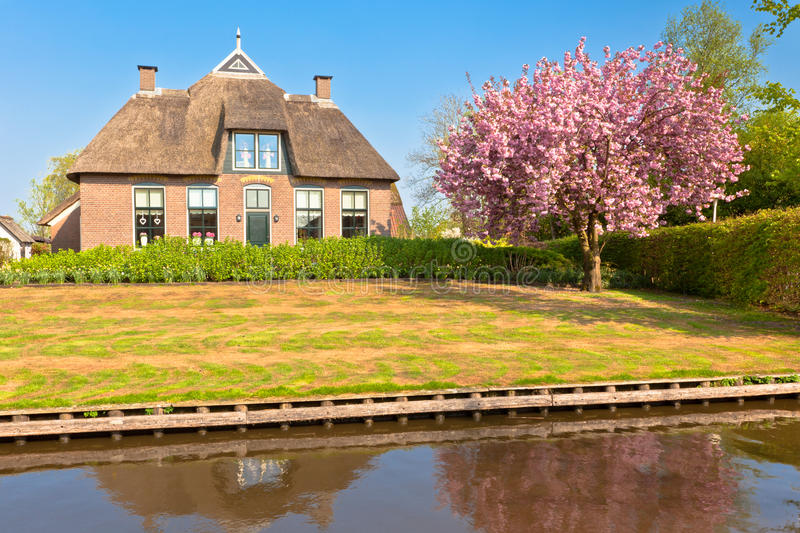 Download Traditional Dutch House At Spring Stock Image - Image: 26577885