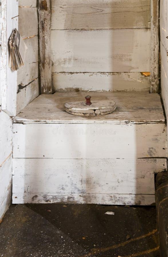 Traditional Dutch toilet royalty free stock photos