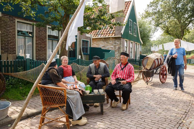 Traditional Dutch village royalty free stock photos