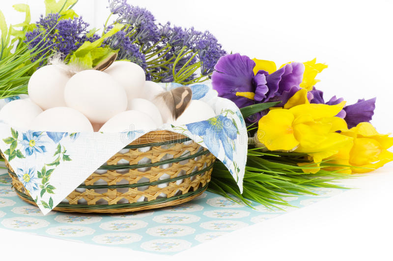 Download Traditional Easter Easter Eggs Stock Photo - Image of flora, blossoming: 39506000