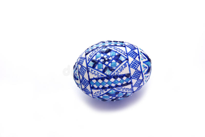 Traditional Easter Egg In Bucovina Royalty Free Stock Photo