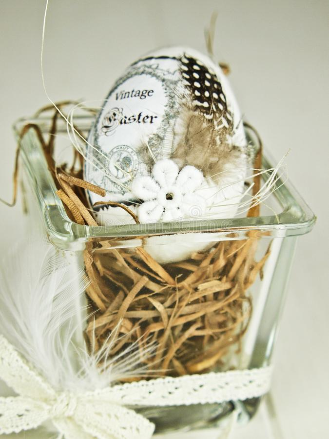 Traditional Easter egg royalty free stock images