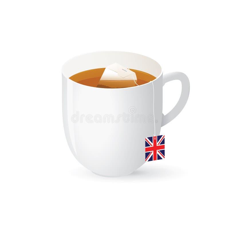 Download Traditional English Black Tea Stock Vector - Image: 28051385