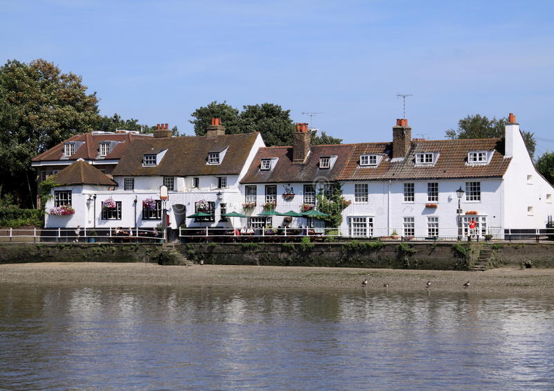 Download Traditional English pub stock image. Image of blue, heritage - 14850279